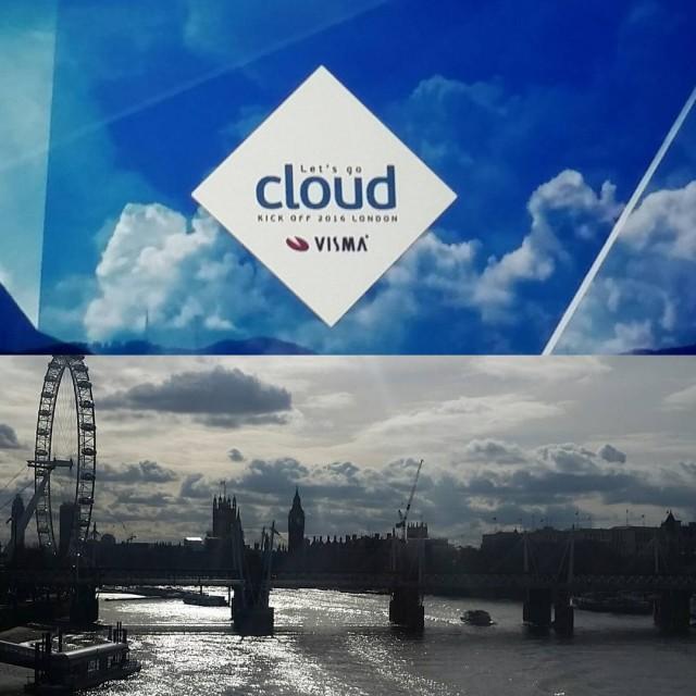 Visma cloud plakatas