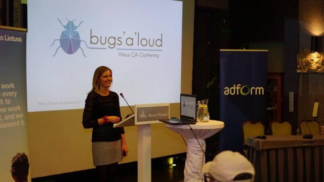 bugs aloud susitikimas