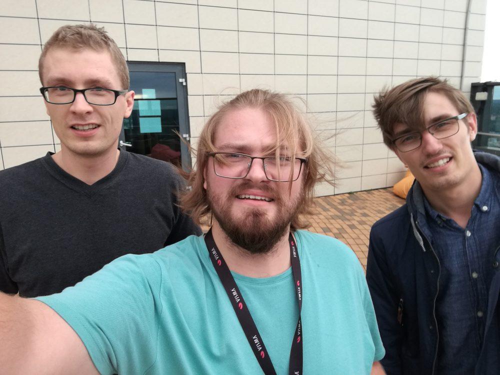 Programuotojų komanda po scrum sprinto