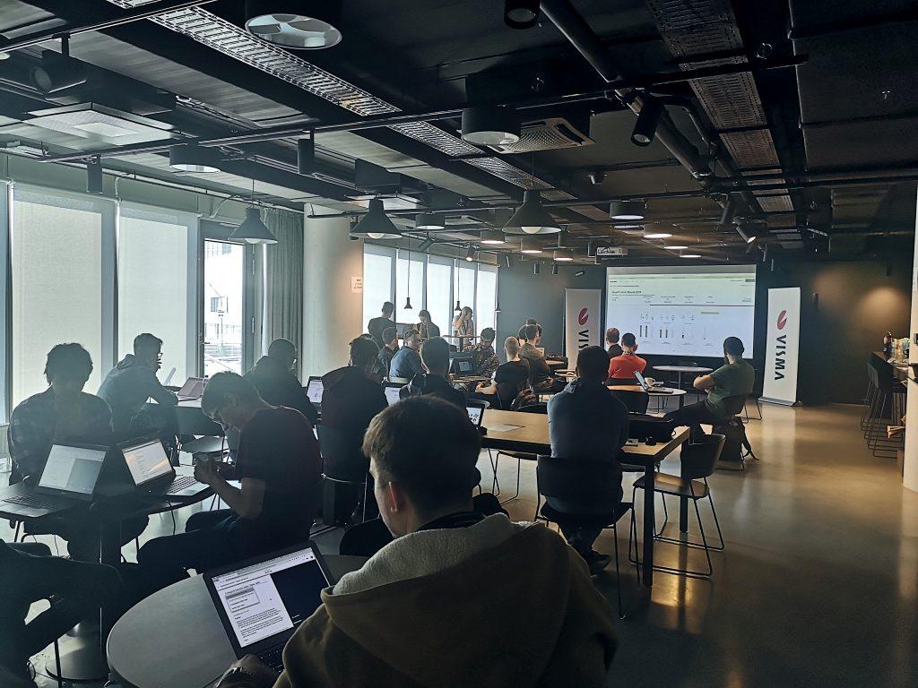 Google Code Jam renginys Visma Lietuva ofise