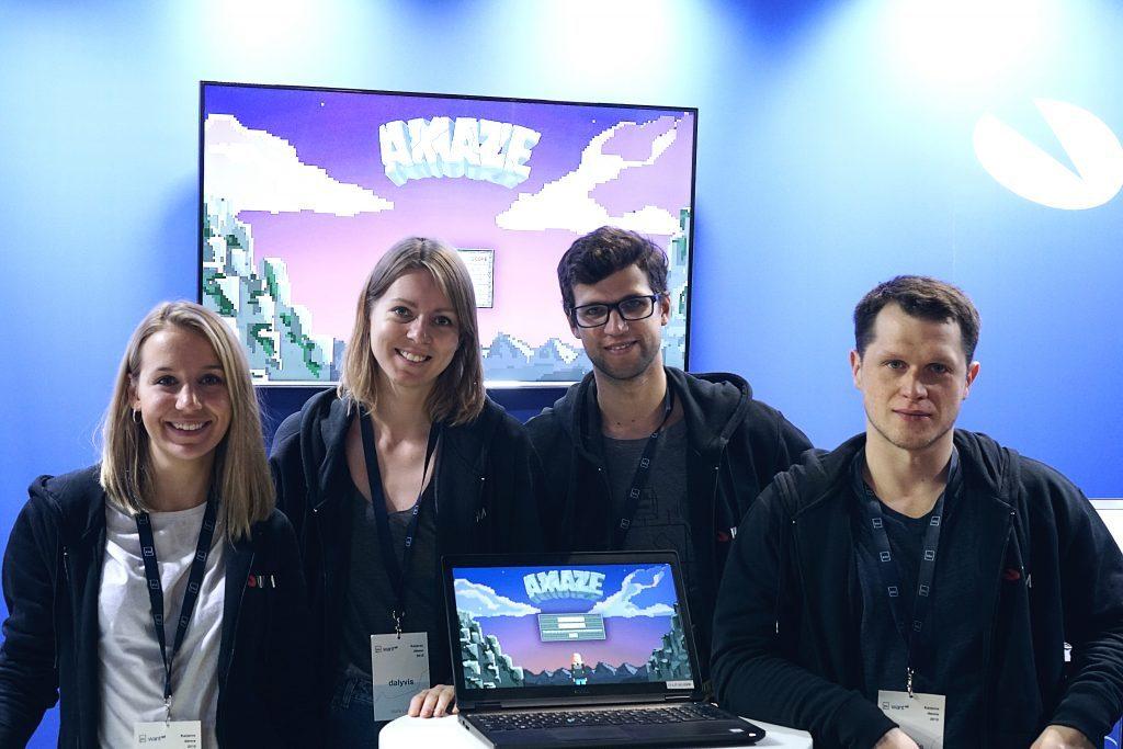 Karjeros dienų komanda/ Amaze programavimo žaidimas