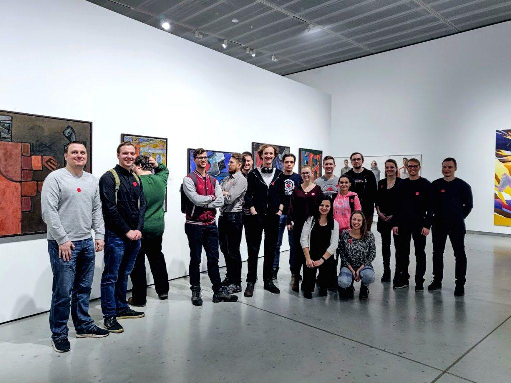 Visma Lietuva programuotojai Ekskursijoje į MO muziejų