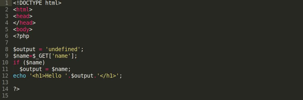 formuojamas dinaminis html turinys