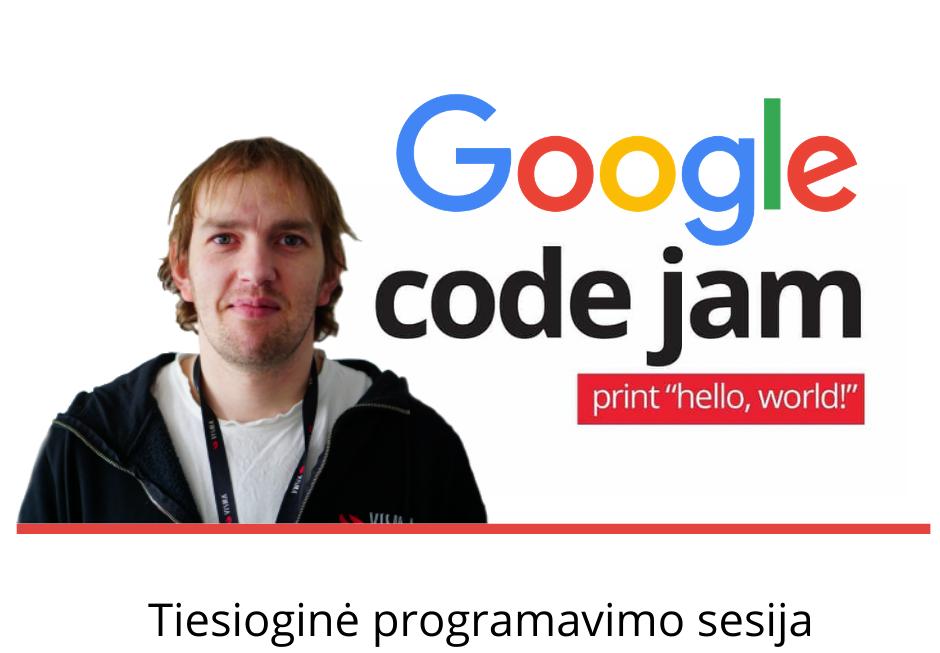 google code jam pasiruošimas
